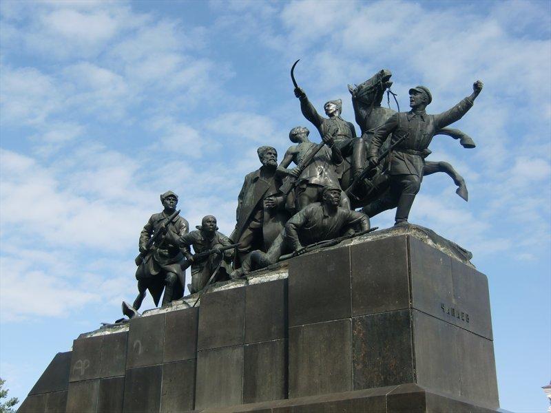 Памятник чапаеву обои на рабочий стол